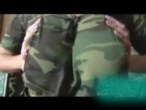 Laura Orsolya military masturbating free