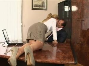 Sexy Secretary Brooklyn Lee