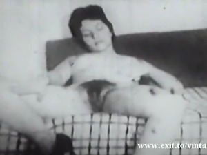 unique vintage. In 1922 there was already amateur home porn movies. Horny...