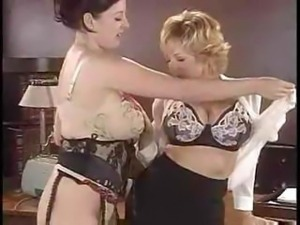 Danni Ashe And Lorna Morgan In Busty Business