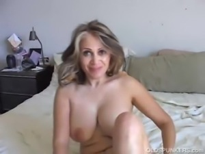 Mature mexican enjoys a hard fu ... free