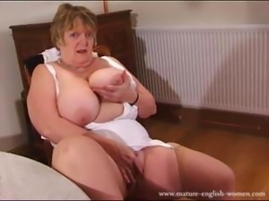 Fat Granny Forced To Fuck