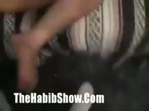 "Freaky cam show of a naughty brunette nympho on ""thehabibshow"""