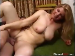 Mature Mom and Young Boy E331