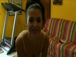 Hidden cam - Spanish girl fucki ... free