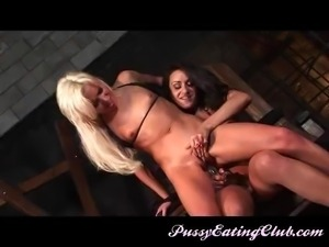 Charley has Kacey tied up, pinned down and totally submissive.  Watch fuck...