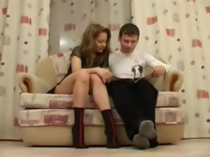 Naughty German teen Taboo sex with elder brother after seeing nude photos in...