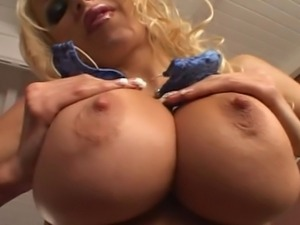 Danielle Derek Blue micro bikini anal