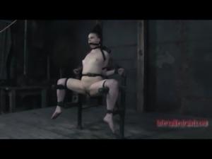 brunette slave girl cage 1 free