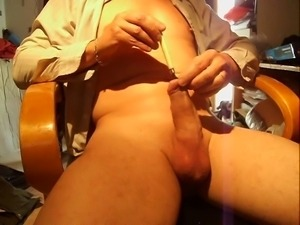 peehole cock insertion butter knife urethra extrem cam