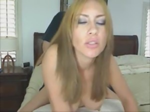 Huge cock made this busty Latin ... free
