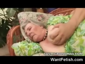 80 yo Granny Gets Fucked! free
