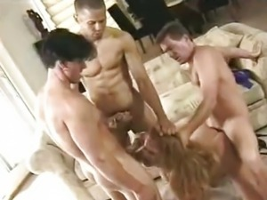 Sana Fey in mmmf foursome