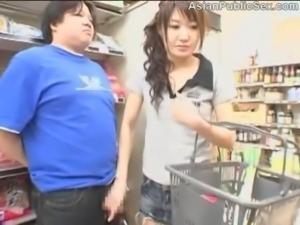 Asian Public Store Blowjob free