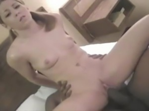 Young White Amateur Slut Fucked By Huge BBC
