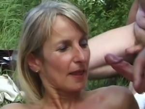 SPERMANNEKE OUTDOOR SEX gangban ... free