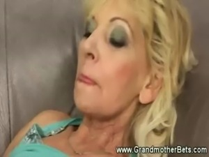 Naughty granny gets wet and freaky free