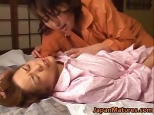 Mature nihonjin honey has lezbo part1