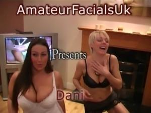 amateur facials uk - dani amour 3 free