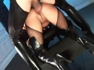 Leather Anal Freak Angelica Heart