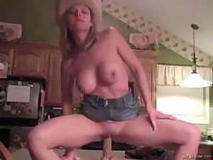 Ann Amst Cowgirl Ridin
