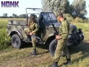 Soldier Patrol Brutally Fucks T ... free