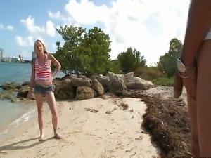 Faye - Anal Adventure On Monster Island
