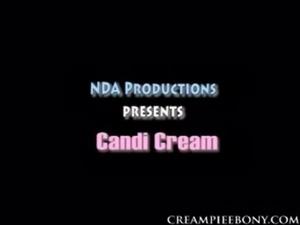 creampie ebony Candi Cream free