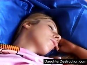 Drunk sleeping girl fucked hard by boyfriend