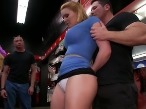 Krakenhot submissive street hooker spanked in a bdsm video
