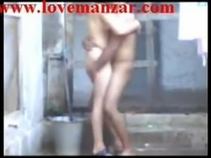 Indian Aunty Bathing And Fucking Creampie