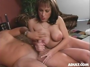 Allissa giving a handjob