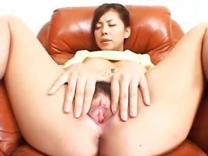 avmost Clit and boob playing busty Japanese l
