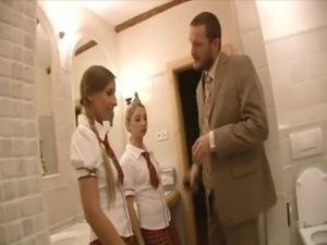 Naughty School Girls free