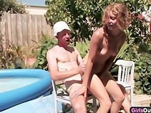 Nice Australian asshole penetrated by a meaty cock