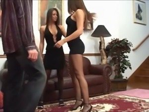 Black Pantyhose Orgy - Pt. 1