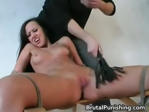 Tit slapping s and m Rope Action super s and m  part4