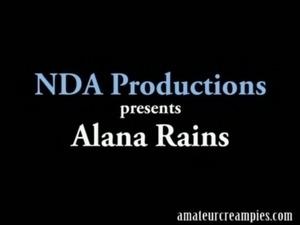 Alana Rains Amateur Creampie free