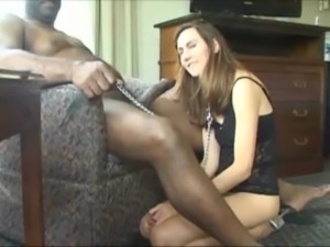 cock first Amateur wife monster