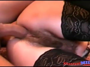 Hairy Secretary Takes Boss Cock Anal