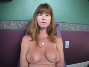 This 50 year old hot milf in sexy heels gets pounded and creampied by many...