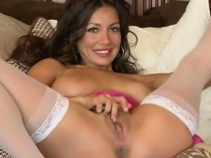 Candice Cardinele - Bedroom Stockings