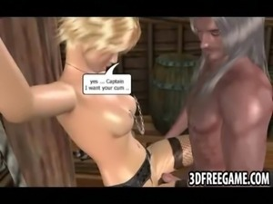 The big dick ripped captain of the slut ship fucks sluts free