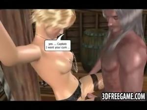 The big dick ripped captain of the slut ship fucks sluts free