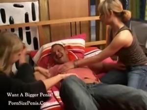 2 German Girls Seduce A Man free