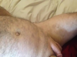 Wife with red nails full handjob  milking huge cumshot free