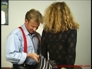 Hot chubby MILF secretary fucked hard by her boss free