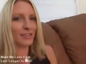 Blonde Mommy with nice big tits fucked hard free