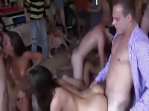 Teen chicks enjoying swingers action