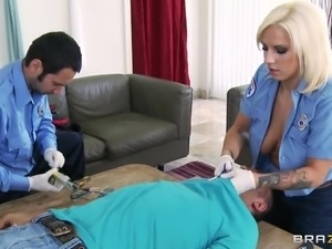 slutty doctor lylith lavey saves another cock